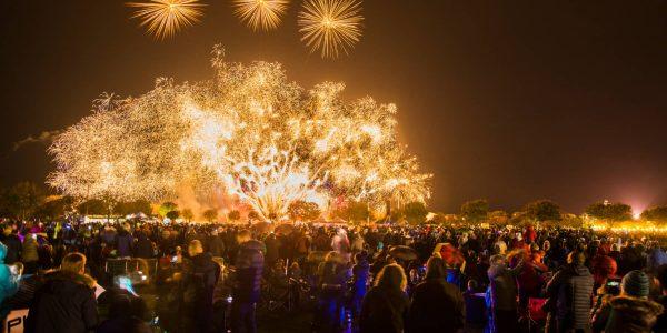 Brisith Musical Firework Championship Victoria Park Southport