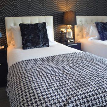 Large Twin en suite room Sunnyside Bed and Breakfast