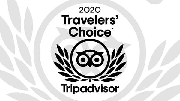 TripAdvisor's travellers choice hotel award