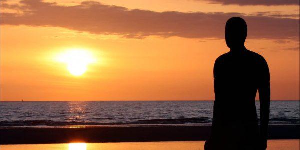Antony Gormley Statue Another Place Crosby Beach
