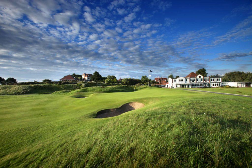 Hillside golf course 8th hole